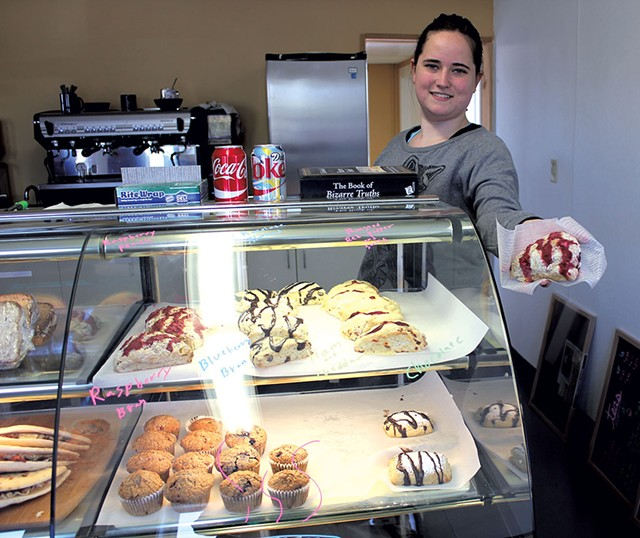 Kelly Gearwar, manager of the new Carol's Hungry Mind Café - ANDREA SUOZZO