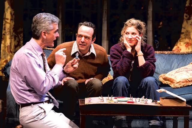 Left to right: Mark Light-Orr, David Mason and Jenni Putney