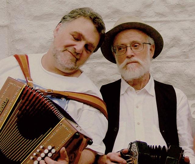 Robert Resnik (left) and Marty Morrissey - COURTESY OF ROBERT RESNIK