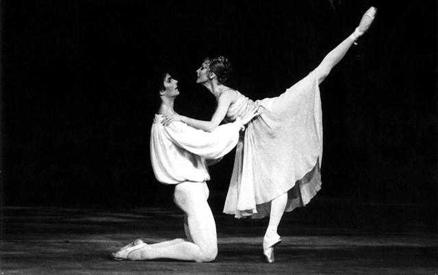Kevin McKenzie and Natalia Makarova in Romeo and Juliet - COURTESY OF MIRA