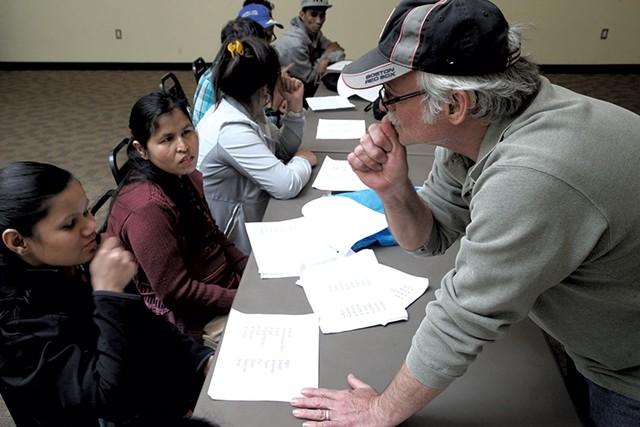 American Sign Language to Vermont Bhutanese - MATTHEW THORSEN