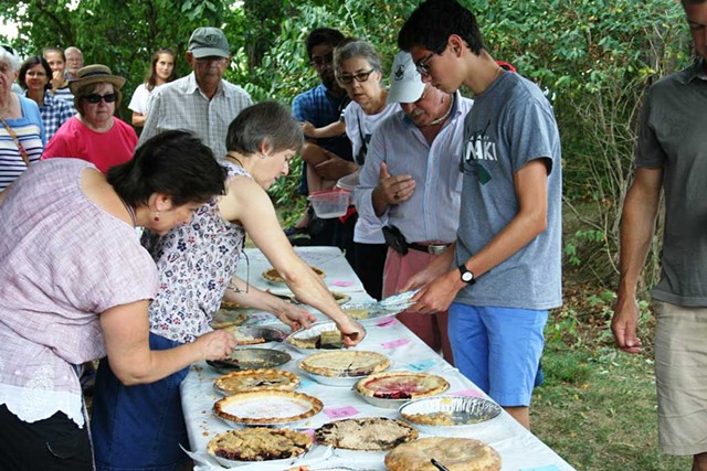 Rokeby Museum Pie and Ice Cream Social in 2018 - COURTESY IMAGE