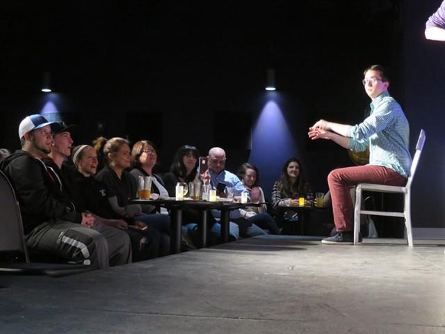 The Vermont Comedy Club - FILE: MATTHEW THORSEN ©️ SEVEN DAYS