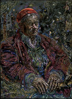 """The Vermonter (If Life Were Life There Would Be No Death)"" by Ivan Albright - COURTESY OF HOOD MUSEUM OF ART"