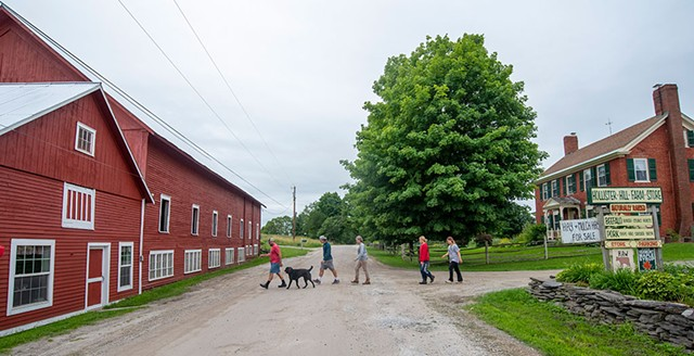 The Dunlop family at Hollister Hill Farm - JEB WALLACE-BRODEUR