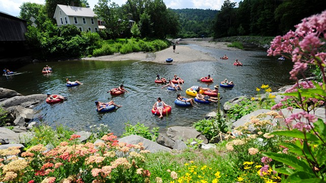 Tubing on the Mad River - JEB WALLACE-BRODEUR