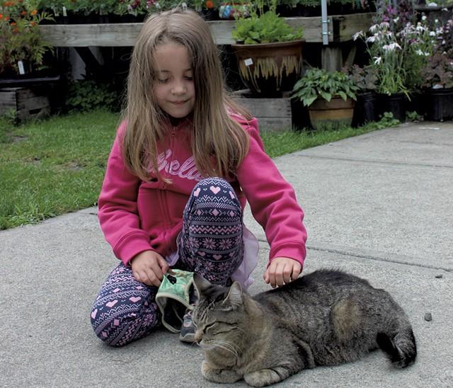 May Tadlock and Ni the cat - MELISSA PASANEN