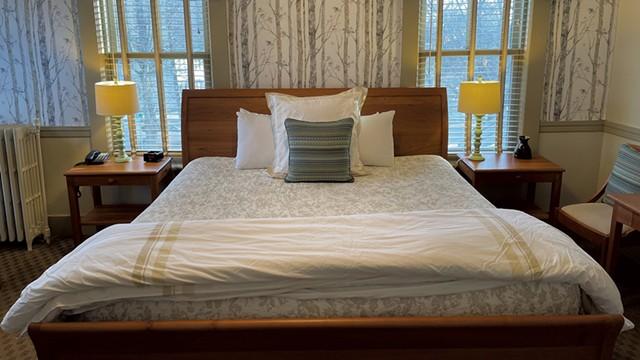 A room at the inn - COURTESY OF NORWICH INN