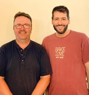 Paul Seyler, left, and Matt Bonoma - COURTESY