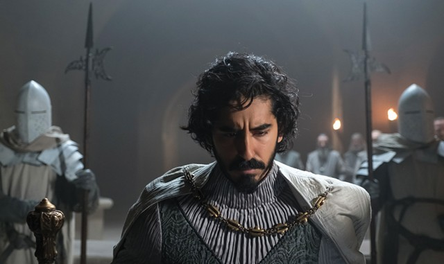 A KNIGHT'S TALE Patel plays Sir Gawain in Lowery's modern and mesmerizing take on the Arthurian legend. - COURTESY OF A24