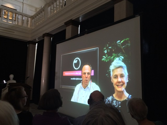 Video of PechaKucha founders Mark Dytham and Astrid Klein - RACHEL JONES