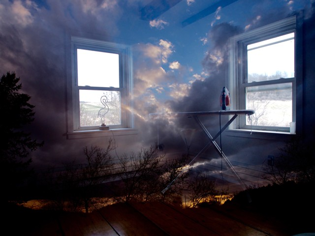 "Image from ""Roominations"" series by Michael Wisniewski - COURTESY OF MICHAEL WISNIEWSKI"
