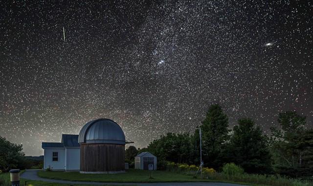 Perseid Meteor Star Party - COURTESY OF DAVID TRONO