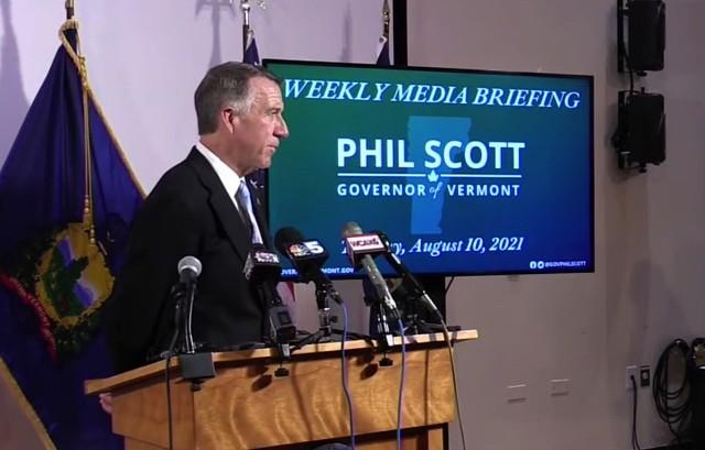 Gov. Phil Scott - ALISON NOVAK ©️ SEVEN DAYS