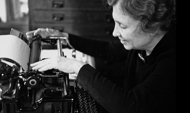 RED FLAIR Gianvito's documentary explores a different side of Helen Keller. - COURTESY OF GRASSHOPPER FILM