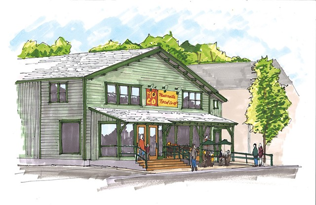 Morrisville Food Co-op rendering