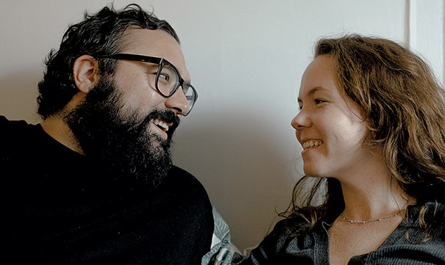 Anthony and Maggie Gerakos of Little Seed Coffee Roasters - COURTESY OF  KATIE JEAN PHOTOGRAPHY/LITTLE SEED COFFEE ROASTERS