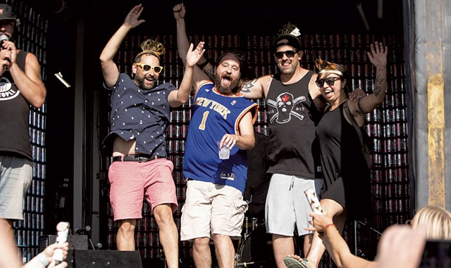 The Jesse Taylor Band, winner of the Citizen Cider Battle of the Bands - COURTESY OF LUKE AWTRY PHOTOGRAPHY