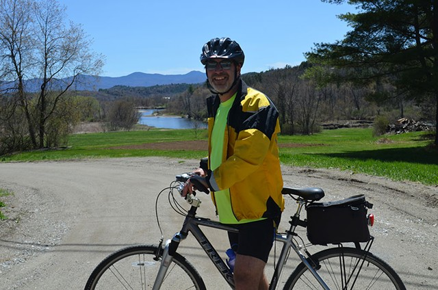 Ken Picard on the new Lamoille Valley Rail Trail - KEN PICARD