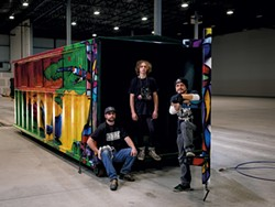 The Art of Recycling: Anthill Collective - COURTESY OF MICHAEL SIPE