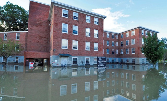 The State Office Complex after Tropical Storm Irene - FILE: JEB WALLACE-BRODEUR