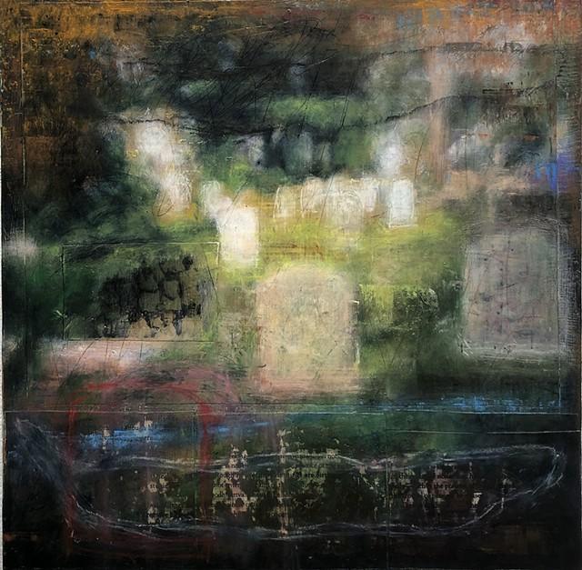 """Like Travelers in a Night's Lodginghouse II"" by Cheryl Betz - COURTESY OF CHERYL BETZ"
