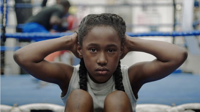 Royalty Hightower stars in The Fits. - OSCILLOSCOPE LABORATORIES