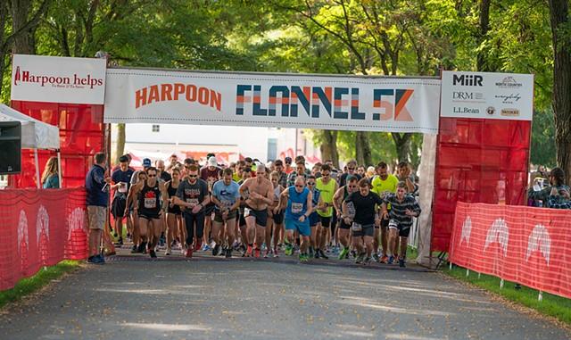 Harpoon Flannel 5k - COURTESY OF ORA LEA