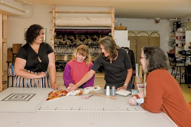 From left: Kaya Binti, Anjelica Carroll, Karen Freeman and Rebecca McDonald - OLIVER PARINI