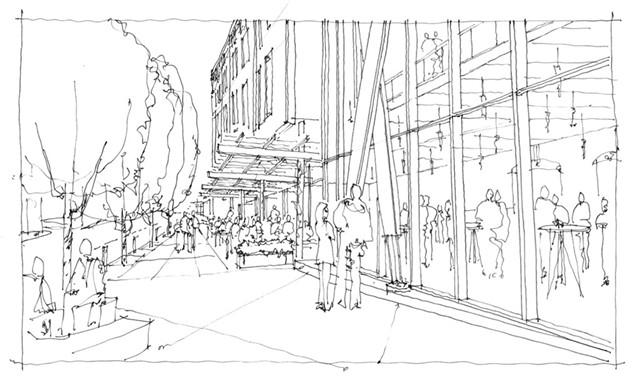 The proposed Strand building in Winooski