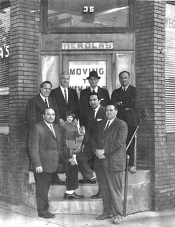 The Merola family in front of their store - COURTESY OF JOHN VARRICCHIONE