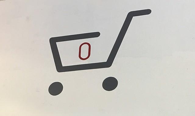 Shopping-cart icon - PAMELA POLSTON ©️ SEVEN DAYS
