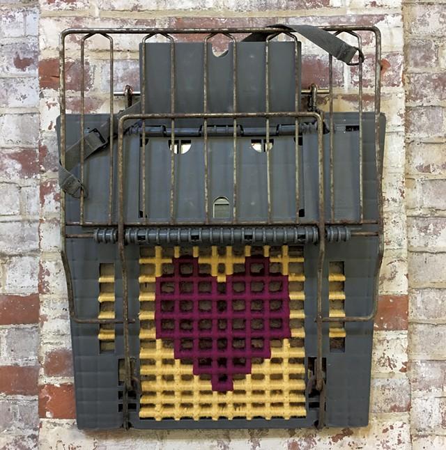 """Purple Heart"" - PAMELA POLSTON ©️ SEVEN DAYS"