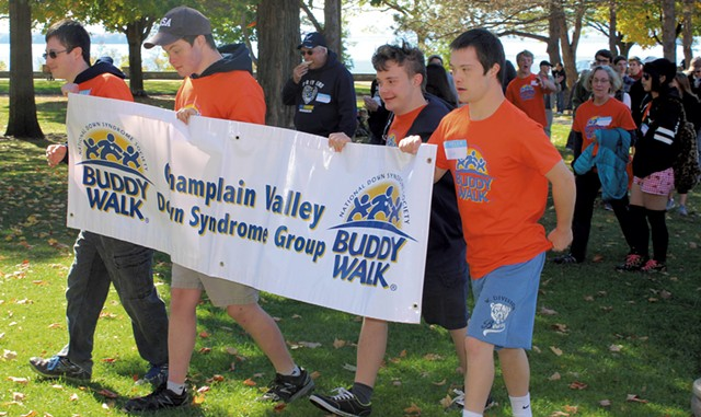 Champlain Valley Buddy Walk - COURTESY OF CHAMPLAIN VALLEY DOWN SYNDROME GROUP