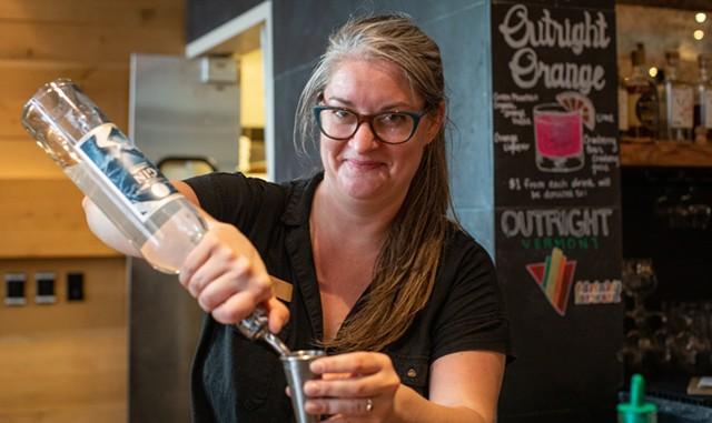Kate Wise at Hotel Vermont's Juniper Bar & Restaurant - LUKE AWTRY