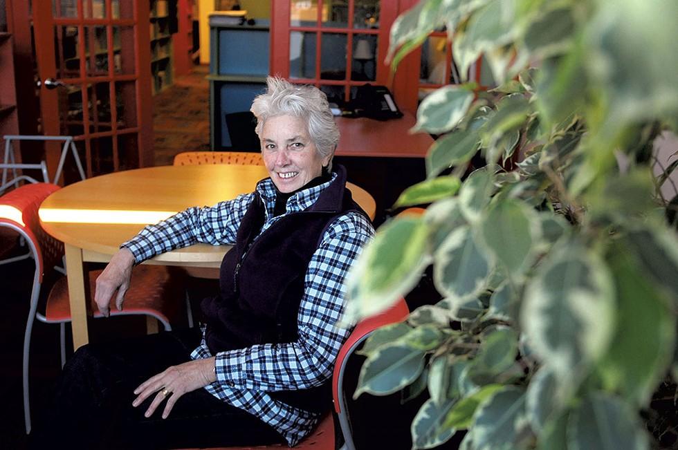Margo Baldwin in 2014 - COURTESY OF VALLEY NEWS/SARAH PRIESTAP