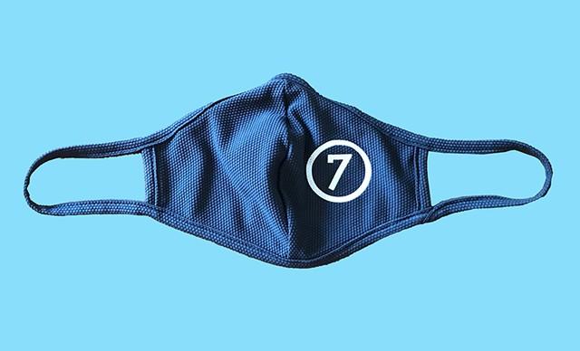A Seven Days face mask - MATT WEINER ©️ SEVEN DAYS