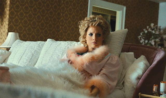 Jessica Chastain in The Eyes of Tammy Faye - COURTESY OF SEARCHLIGHT PICTURES.