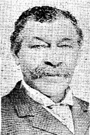 Photo of sheriff Stephen Bates from the Boston Herald, December 1905 - COURTESY OF ELOISE BEIL