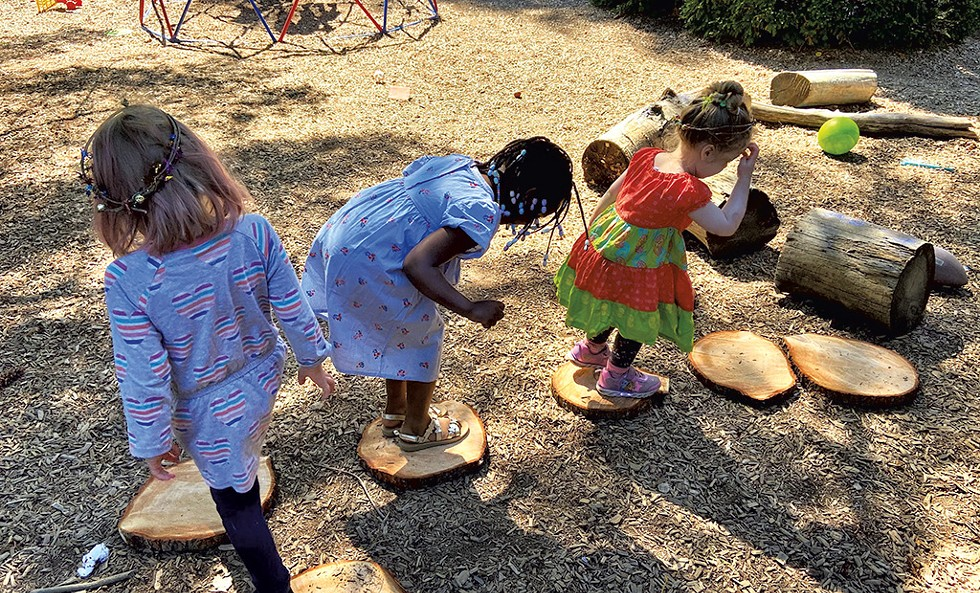 Children play at Kids-A-Part program - COURTESY OF LUND
