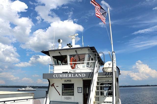 The Cumberland car ferry - FILE: KEVIN MCCALLUM ©️ SEVEN DAYS