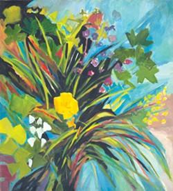 "Lee Garrison, ""Untitled (Bouquet)"""