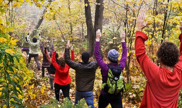 Silver Lake Yoga Hike - COURTESY OF LINDA TREASH