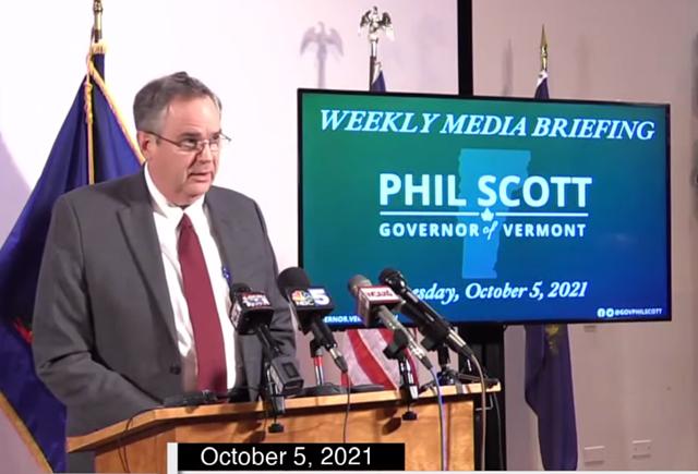 Secretary of Education Dan French - SCREENSHOT ©️ SEVEN DAYS