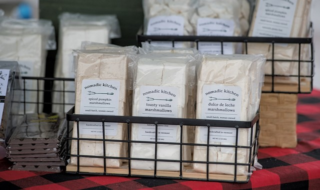 A variety of Nomadic Kitchen's handcrafted marshmallows - DARIA BISHOP