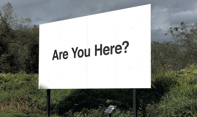 """Are You Here?"" by Jonathan Gitelson - PAMELA POLSTON ©️ SEVEN DAYS"