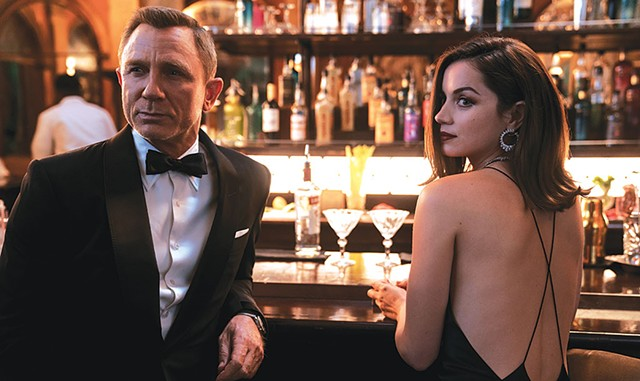 Daniel Craig and Ana de Armas in No Time To Die - COURTESY OF MGM