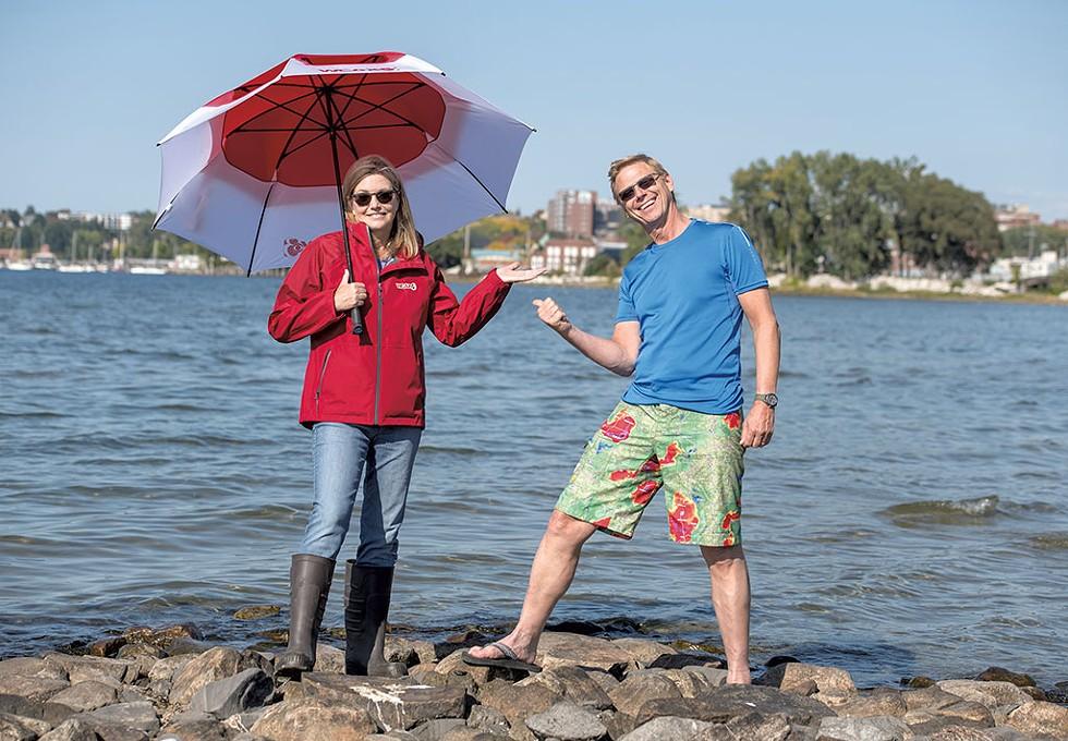 Sharon Meyer and Tom Messner - DARIA BISHOP