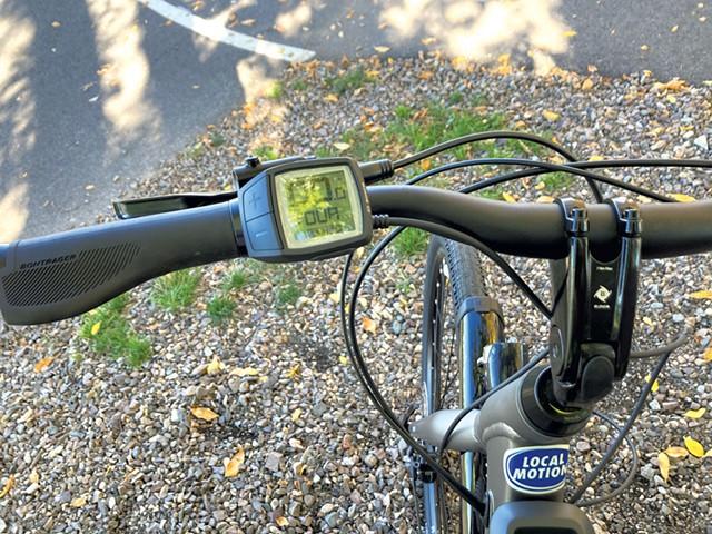 Local Motion e-bike - JEFF BARON ©️ SEVEN DAYS