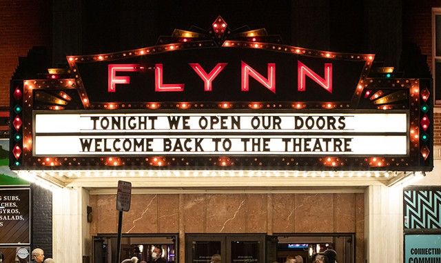 The Flynn marquee - COURTESY OF LUKE AWTRY PHOTOGRAPHY